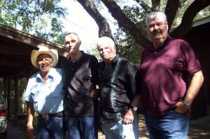 L-R Bud Cardos, Bob Ivy, Gary Kent, Chuck Bail Photo from Austin Film Society